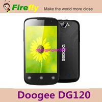 "Cheap New Arrival 3.5"" Doogee DG120 Doogee Collo 2 DG120 Smart Phone MTK6572 512M RAM 4GB ROM Cheap Android Phone Free Flip Case"