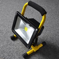 Wholesale 2015 New W IP65 Floodlight Portable Rechargeable Work Emergency Flood Light for Traveling Camping Fishing Outdoor Retail Package