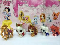 bamboo pet toys - Princess Princesses beautiful Plalace Pets exquisite cute figures toy toppers set birthday cake toppers present