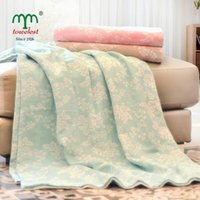 air fre - ome Textile Blanket New Throw Blanket Cotton Blankets Super Soft Blanket on bed for Adult Floral Air Condition cm Fre