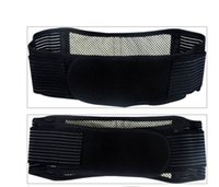 Wholesale Tourmaline self Heating Waist Brace Support waist Magnetic Therapy Belt For health and keep warmer