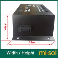 solar battery charge controller - misol solar regulator A V solar charge controller PWM for solar panel battery charging