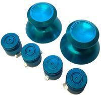 Wholesale PS4 Aluminium Thumbsticks Bullet Buttons Set For Playstation Controller