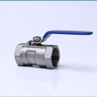 ball valve types - Stainless Steel CF8 quot DN25 PC Type Female Ball Valve Internal Threaded for Water Oil and Gas