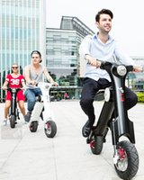 folding electric bicycle - Fashion good replace car portable fold electric scooters mini scooters high quality electric bicycle electric bike self scooter high class