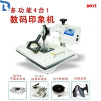 Wholesale Fashion DIY New Pro Advanced Multi Functional Machine Heat Press in1 Digital Heat Transfer Press Machine Combo Sublimation