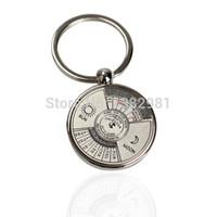 ao calendar - Mini Perpetual Calendar Keychain Ring Unique Metal Keyring AO P