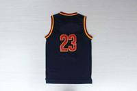 Wholesale Top Quality Revolution Swingman Basketball Jerseys Lebrons James Red Blue Yellow Black Embroidery Logo Mix Order