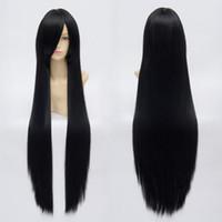 Wholesale Brand New Halloween Party Fancy Anime Enma Ai Akiyama Mio Kikyou Cosplay Black Wigs