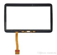 Wholesale For Samsung Galaxy Tab P5200 Black And White Touch Screen Digitizer Glass Touch Panel Replacement