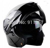 Wholesale 2015 New Arrivals Best Sales Safe Flip Up Motorcycle Helmet With Inner Sun Visor double lens helmet better than JIEKAI A5