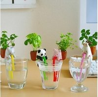 Wholesale DIY planting thirsty thirst suck in planting mini creative small animal tail suction plant