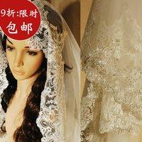 Cheap Fashion veil bridal veil luxury car lace decoration wedding accessories 3 meters veil