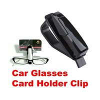 Wholesale Car Vehicle Visor Sunglass Eye Glasses Holder Clip C H1E1