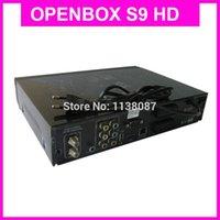 Wholesale Newest HD TV Digital Satellite Receiver Openbox S9 latest version hd pvr cccam cardsharing receiver