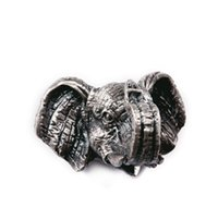 antique modern furniture - FBH040319 Doorknob Antique wardrobe doors in modern European furniture drawer pull the creative hands of ancient silver