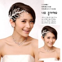 Wholesale Silver Fashion Pretty Wedding Bridal Accessories Silver Metal Crystal Hair Pieces Accessories Crown Tiaras