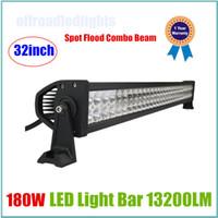 led off road - 32Inch W LED Light Bar Spot Flood Combo Beam Off Road IP67 For WD SUV ATV Lights V V