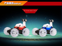 Wholesale Dancing stunt car back flip skip Charging children large remote control models