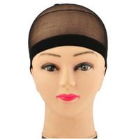 Wholesale High quality Wig Liner Cap Elastic Unisex Stocking Snood Nylon Stretch Mesh Hat
