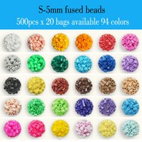 Wholesale 20 bags x bag S mm ARTKAL fused beads kids educational toys beading kits hama perler beads P1001 SB500x20