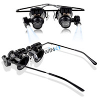 Wholesale Brand new and high quality x Jewelers Magnifier Magnifying Glasses Eyeglasses for Gold Diamond Jewlery