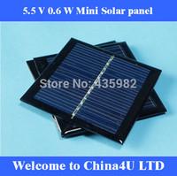 Wholesale 10 V W mA w Mini monocrystalline polycrystalline solar Panel small resin solar cell PV module DIY solar Kits