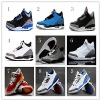 Wholesale Men s retro VI Retro Basketball Shoes White Infrared athletic shoes men retro many colors sports shoes