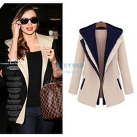 Wholesale New Fashion Female Jacket Slim Two Pieces Outwear Patchwork Blazer Casual Coat For Women SV005641