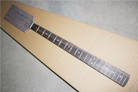 Wholesale Electric Guitar Neck with Rosewood Fretboard and Zebra Wood Neck and Headstock and Can be Customized