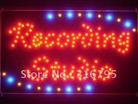achat en gros de signe d'enregistrement-Gros-led045-r Recording Studio LED Neon Light Sign