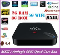 Cheap Quad Core MXIII Kodi TV Box Best Included 1080P (Full-HD) MXIII