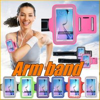 arm gym workout - Fashion Workout Cover Sport Gym Case For iPhone Holder Waterproof Luxury Casual Running Riding Cases Arm Band for iphone6