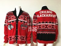 wool sweater - 2016 NEW Hockey Jackets Men s Hot Sale Winter Sweaters Chicago Blackhawks Top Quality NHL Hockey Sweater jersey