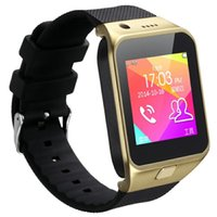 Wholesale GV08 Healthy Bracelet Smart Watch Phone For Android Bluetooth Connection quot Touch Screen G SIM Card Remote Photo SYNC Call SMS DHL