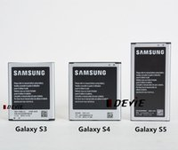 Wholesale Battery for samsung Galaxy S3 S4 S5 i9300 i9500 i9600 mobile High capacity battery EB L1G6LLU B600BC EB BG900BBC