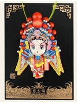 Wholesale Plate type clay Peking Opera Handicrafts Handicrafts characteristics China features gifts