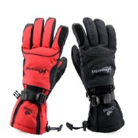 Wholesale Ski Riding Full Finger Gloves Warm Winter Riding Gloves Waterproof Warm Gloves Breathable Outdoor Sports Gloves