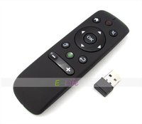 Wholesale Mini Wireless Air Mouse axis Gyroscope Technology Full Remote Control G for PC Smatr TV Set top box Android Tv box HDTV
