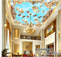 Wholesale Customize medieval ceiling mural wallpaper wall sticker wallpapers mural wallpaper non wvoen wallpaper factory direct20152179