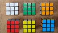 Cubo de Rubik cubo mágico juguetes clásicos Puzzle juego de magia de juguetes para adultos juguetes educativos para niños de 3x3x3 Cubo Mágico 5,7cm 5,7cm * * 5,7cm 2015 nuevos llegan