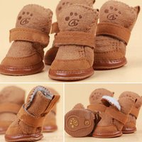 Shoes & Socks Fall/Winter Valentine's Day New Fancy Dress up Pet Dog Chihuahua Boots Puppy Shoes For Small Dog IA966 W0.5