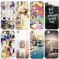 artistic paintings - For iPhone S Case Cover Fashion thin artistic Colorful long road Pattern Hard Skin Painted Back Phone Fashion Style MCA043