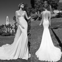 Cheap Trumpet/Mermaid Galia Lahav 2015 Wedding Best Reference Images Sweetheart Mermaid Bridal Dresses