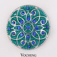 toggle clasps - Vocheng Noosa Chunks Button Jewelry DIY Jewelry Accessory Adornment Set Noosa Nosa Amsterdam Toggle Clasp Vn