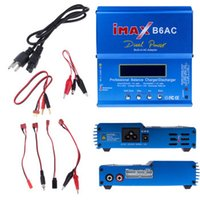 battery power toys - 80W Original iMAX B6AC Dual Power Lipo NiMH RC Battery Balance Charger Discharger for Helicopter Boat Car Toy
