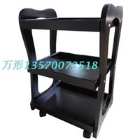Wholesale Solid wood beauty cart Solid wood cart Beauty tool car hairdressing in hairdressing trolley car