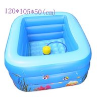 Wholesale New Inflatable baby ocean Swimming Pool Years old Kids Bathtube Pump