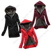 Women women winter coats - Fashion Casual Women s Winter Hot Thicken Hoodie warm Coat Outerwear Colors