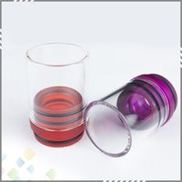big chief - High quality Wide Glass Drip tips mm Glass Big Chief Chuff Drip Tip Mouthpieces for RDA Atomizer E Cigarette DHL Free